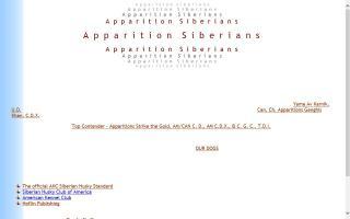 Apparition Siberians