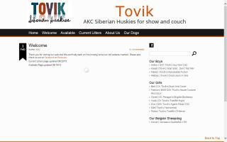 Tovik Siberian Huskies