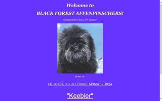 Black Forest Affenpinschers