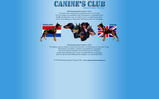 Canine's Club Dobermann Kennel