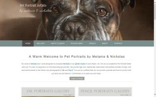 Pet Portraits by Melanie Phillips