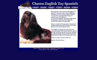 Chasen English Toy Spaniels