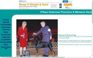 D'Rays Doberman Pinschers & Miniature Dachshunds