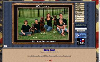 Garrett's Dobermans