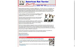 American Rat Terrier Rescue - ARTR
