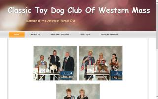Classic Toy Dog Club of Western Massachusetts