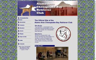 Alamo Area Chesapeake Bay Retriever Club - AACBRC