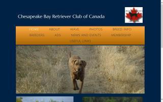 Chesapeake Bay Retriever Club of Canada - CBRCC