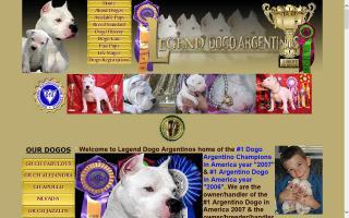 Legend Dogo Argentinos