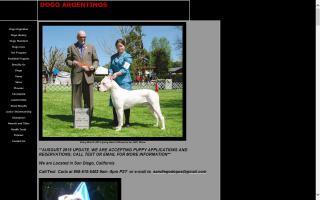 Debonair Dogo Argentinos