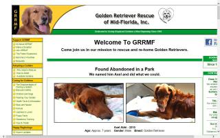 Golden Retriever Rescue of Mid-Florida - GRRMF