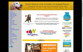 Golden Retriever Club of Greater Los Angeles Rescue - GRCGLA