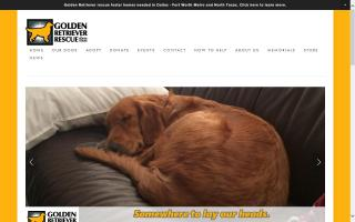 Golden Retriever Rescue of North Texas - GRRNT