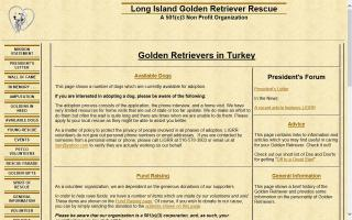 Long Island Golden Retriever Rescue - LIGRR
