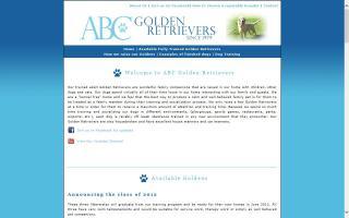 ABC Golden Retrievers