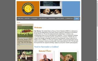 Golden Retriever Rescue Club of Charlotte - GRRCC