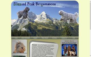 Blizzard Peak Bergamascos