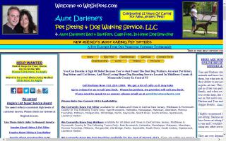 Aunt Darlene's Pet Sitting & Dog Walking Service