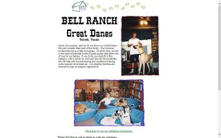 Bell Ranch Great Danes