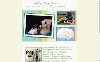 Alderon Farm Havanese Dogs