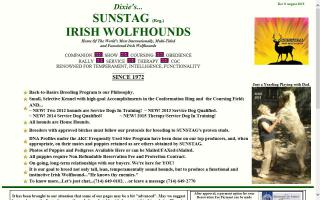 Sunstag Irish Wolfhounds