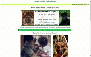 Grunenfeld German Shepherds