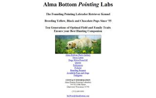 Alma Bottom Pointing Labs