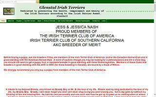 Glenstal Irish Terriers
