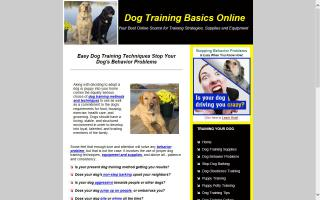 Dog Training Basics Online