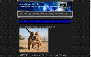 Central Coast Pit Bulls