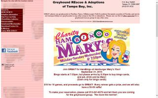 Greyhound Rescue & Adoptions of Tampa Bay, Inc. - GREAT