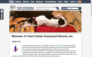 Fast Friends Greyhound Rescue, Inc.- FFGR