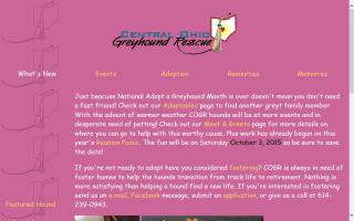 Central Ohio Greyhound Rescue - COGR