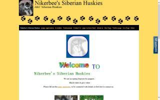 Nikerbee's Siberian Huskies