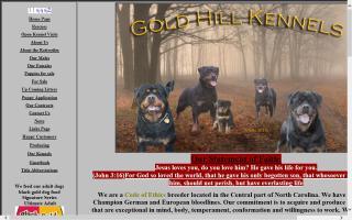 Gold Hill Rottweiler Kennels