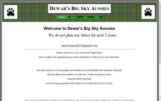 Dewar's Big Sky Aussies