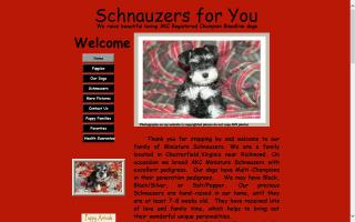 Schnauzers for You