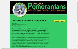 Dee Dee's Pomeranians