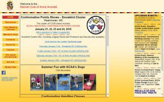 Kennel Club of Anne Arundel - KCAA