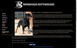 Brinkhaus Rottweilers