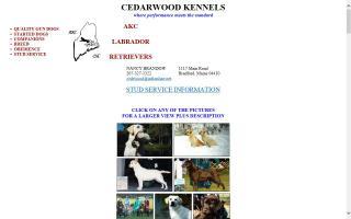 Cedarwood Kennels