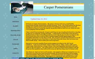 Casper Pomeranians