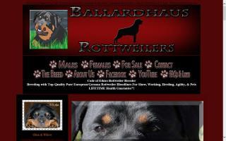 Ballardhaus Rottweilers