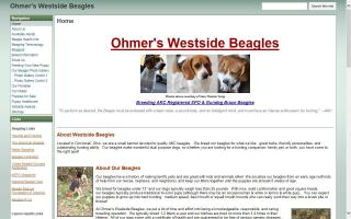 Ohmer's Westside Beagles