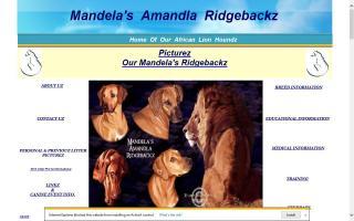 Mandela's Amandla Ridgebackz