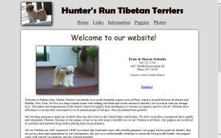 Hunter's Run Tibetan Terriers