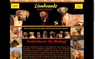 Lionhounds Rhodesian Ridgeback