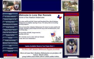 Lone Star Alaskan Malamutes