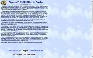 Akailee Shih Tzu Puppies