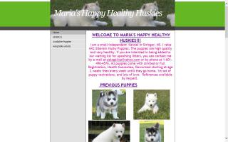 Maria's Happy Healthy Huskies